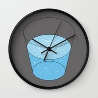 jurassic park Wall Clocks featuring Jurassic Park by FilmsQuiz