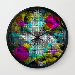 Saturday 18 January 2014: Like emanation blindness caused by self adoration. Wall Clock