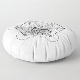 Metatron's Cube 2 Floor Pillow