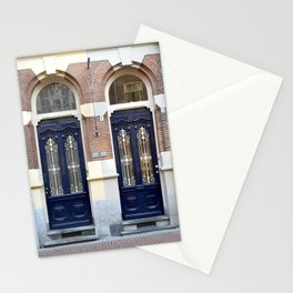 Two doors Stationery Cards