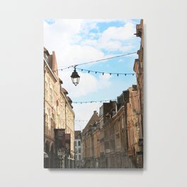 Street Lantern Metal Print