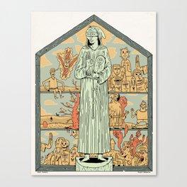 Saint Francis Canvas Print