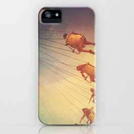 Swinging From The Sun iPhone Case