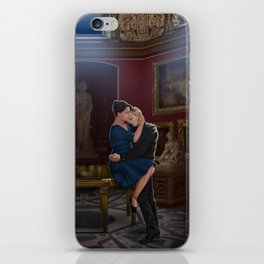 comfort before confession iPhone Skin