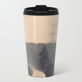Foggy Road Travel Mug