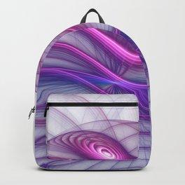 Beautiful Movements, Abstract Fractal Art Backpack