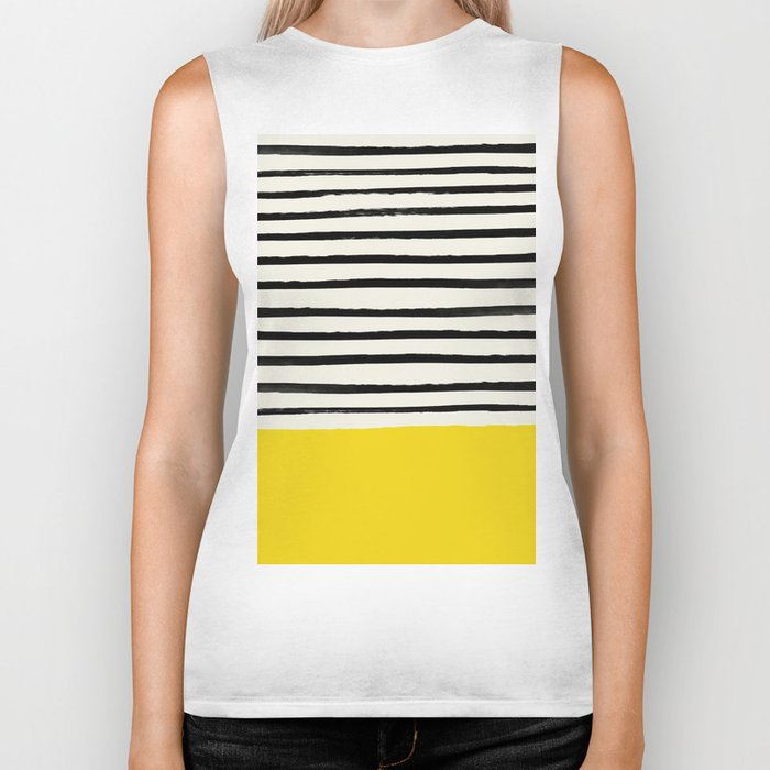 Sunshine x Stripes Biker Tank