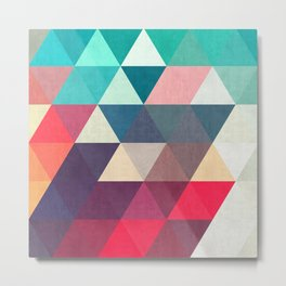 Modern triangular composition VII Metal Print