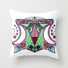 Trans-central Throw Pillow