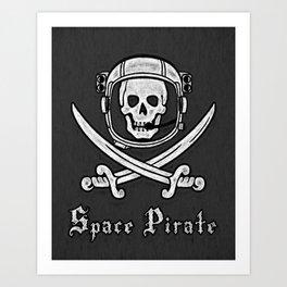 Space Pirate Art Print