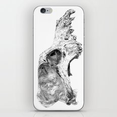 Wolf Skull iPhone & iPod Skin