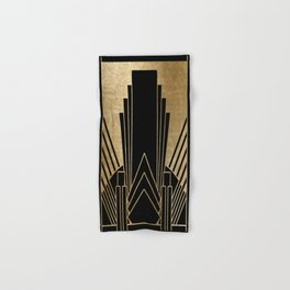 Art deco design Hand & Bath Towel