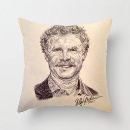 Will Ferrell Throw Pillow
