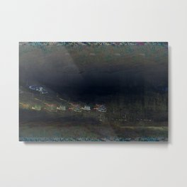 mountain cribs Metal Print