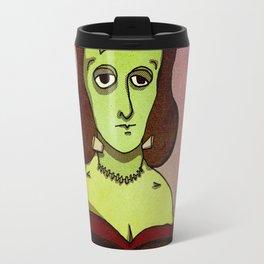 Prophets of Fiction - Mary Shelley /Frankenstein Travel Mug