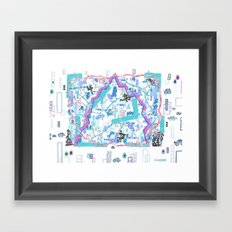 In a Transparent Age, Something Organic, III Framed Art Print