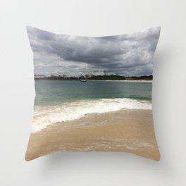 Beautiful gloomy day Throw Pillow