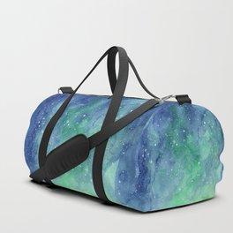 Northern Lights Sky Galaxy Duffle Bag