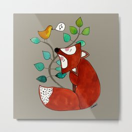Ernst the fox Metal Print
