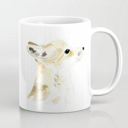 fox pup watercolor Coffee Mug