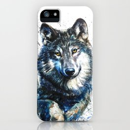 Gray Wolf - Forest King iPhone Case