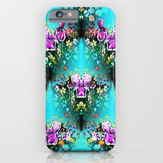 Abstract Garden Repeat iPhone & iPod Case