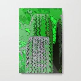 Deep Tread Metal Print