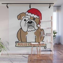 Bully Christmas Wall Mural