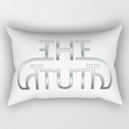 """The Truth"" mirror image design Rectangular Pillow"