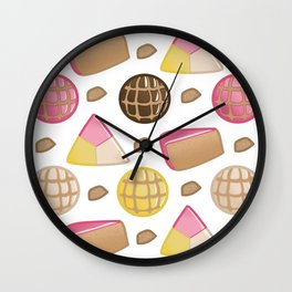 Pan de Dulce Wall Clock