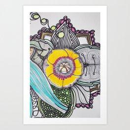 Floraly Art Print