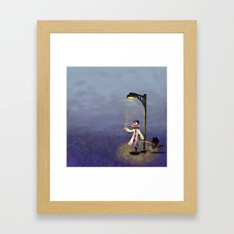 Circus Showers Framed Art Print