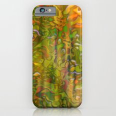 Autumn digital background Slim Case iPhone 6s