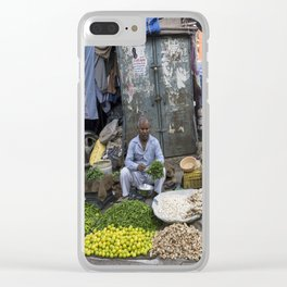 Limes Lemons and spices Clear iPhone Case