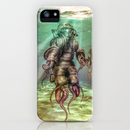 Aquanauts - Tales from under the sea iPhone Case