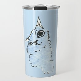 Kitty Blue Travel Mug