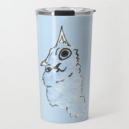 Kitty Blue Travel Mug