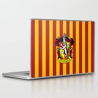 hogwarts Laptop & iPad Skins featuring Gryffindor - Hogwarts  by Kesen
