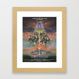 35 years bustin'! Framed Art Print
