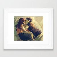 viria Framed Art Prints featuring I hear your voice by viria