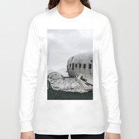 dc Long Sleeve T-shirts featuring DC-3 by Alex Tonetti Photography