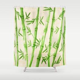 Bamboo Pattern Shower Curtain