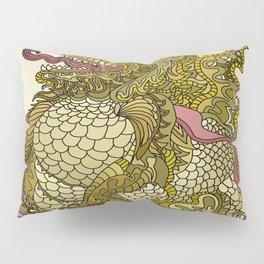 Dragon Royal Gold Pillow Sham