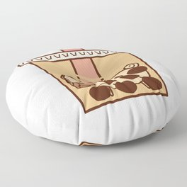 Puglie BBT Floor Pillow