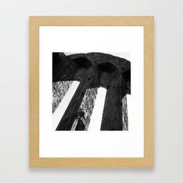 Rock of Cashel arch Ireland Framed Art Print