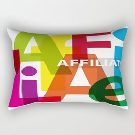 Creative Title :  Affiliate Rectangular Pillow