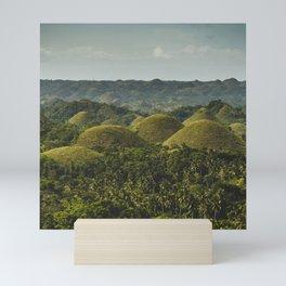 Chocolate Hills of Bohol, Philippines Mini Art Print