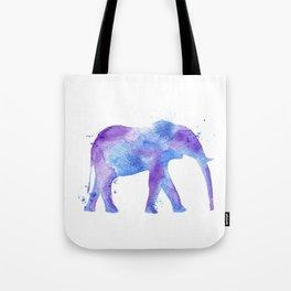 Watercolor Elephant Tote Bag