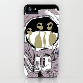 Meet Buzz Aldrin iPhone Case