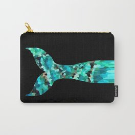 Mermaid Tail Turquoise Mint Aqua Carry-All Pouch